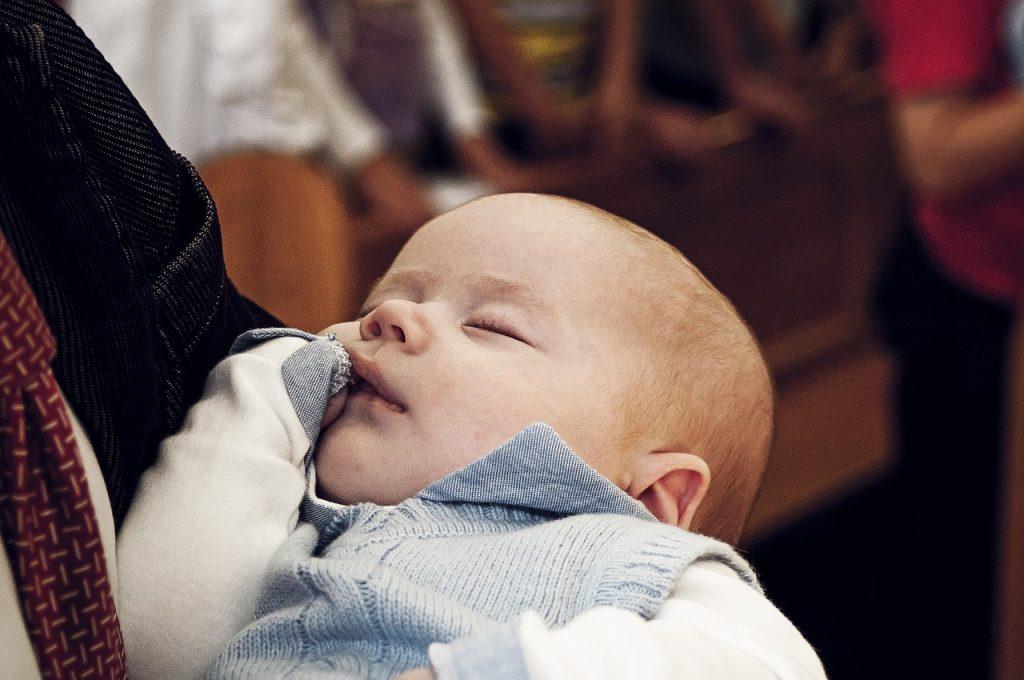 baby arm sleep