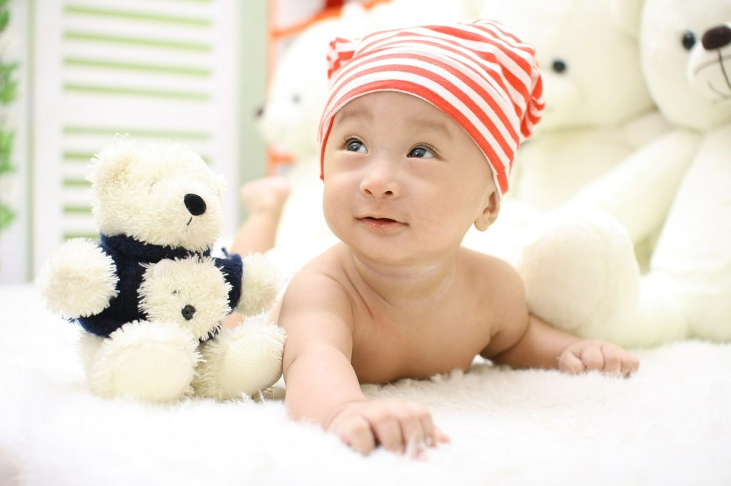 baby hat teddy