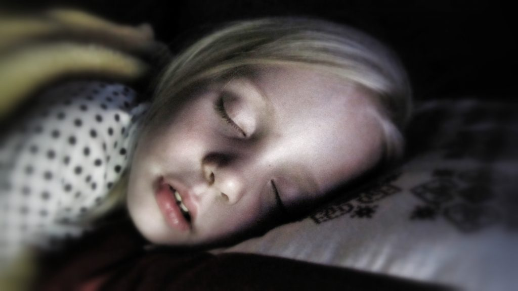 baby snore sleep
