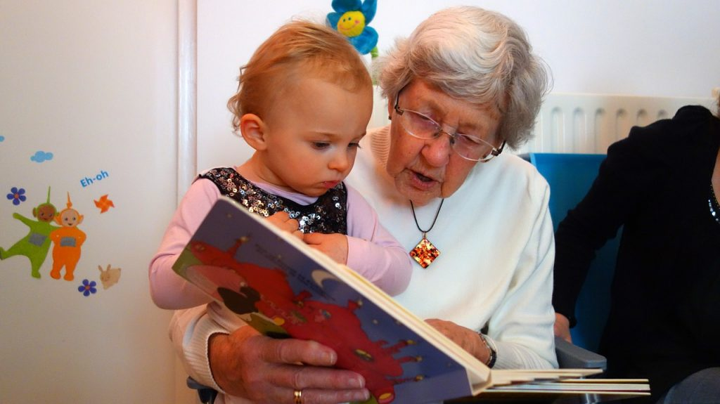 grandma baby read